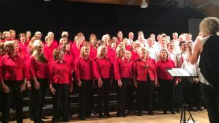 Village Voices & Seer Green Singers performing Hide and Seek by Imogen Heap
