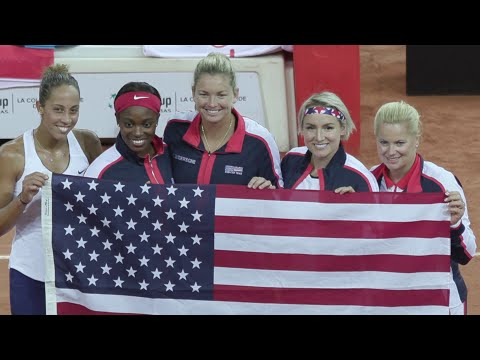 USTA Fed Cup 2018: Team USA Defeats France and Advances to the Fed Cup Final