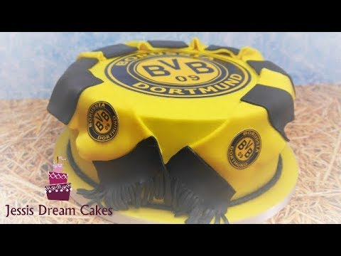 borussia dortmund torte bvb torte fu ball motivtorte youtube. Black Bedroom Furniture Sets. Home Design Ideas