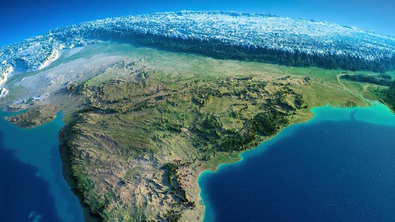 3D Map Of India Viral Video:अतभुत भारत का 3d नक्शा |हिमालय