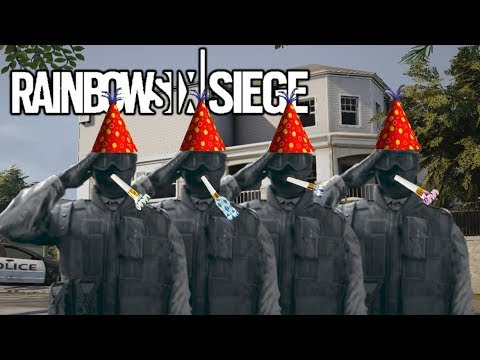 NO PARTY LIKE A RECRUIT PARTY (Rainbow Six Siege)