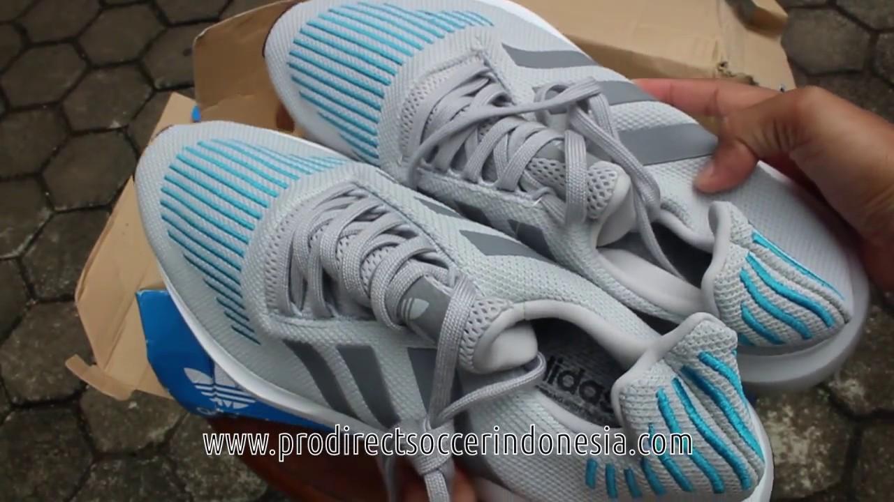 02516e065 Sepatu Lari Adidas Swift Run Grey Crystal White Core Black CG4108 ...