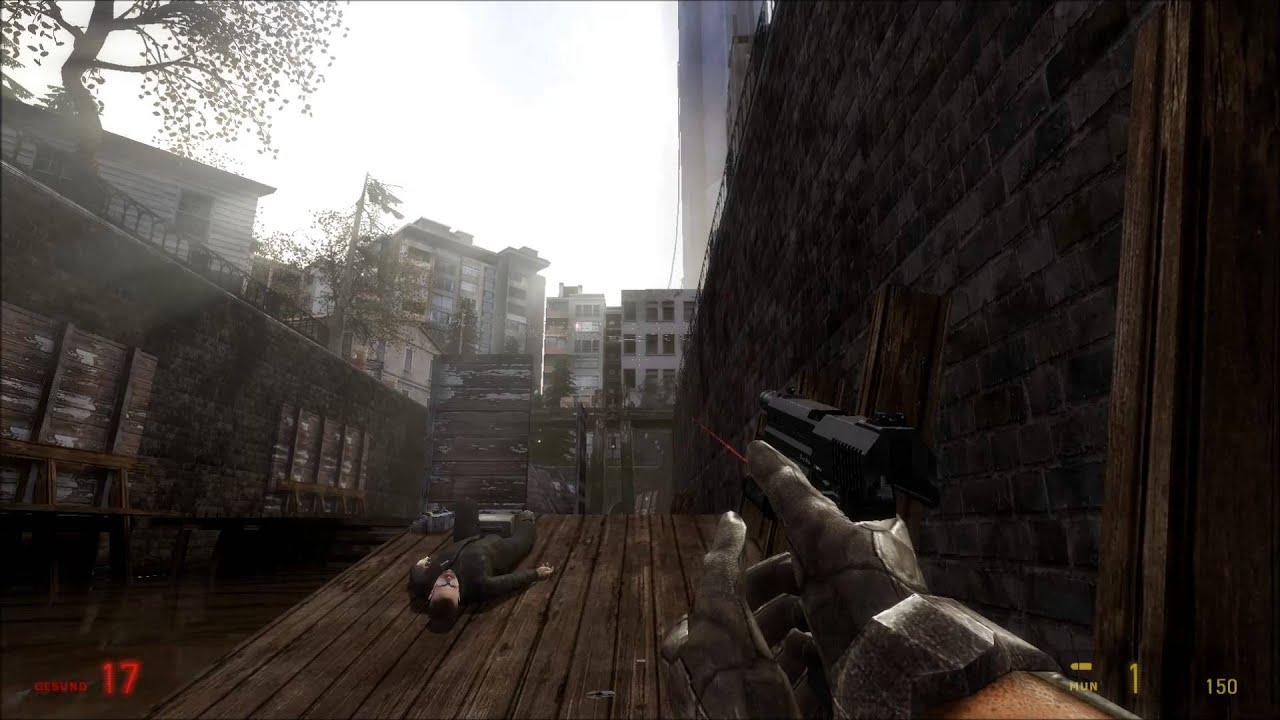 Let's Gameplay Half Life 2 Fakefactory Cinematic Mod 12.21 ...