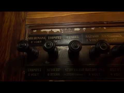 Restauratie orgel Oude Kerk Amsterdam