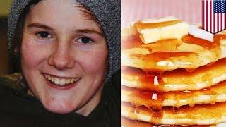 유제품 알레르기가 있는 한 십대, 팬케이크를 먹고 사망…
