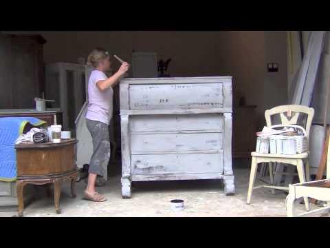 Chalk Paint Annie Sloan Tutorial