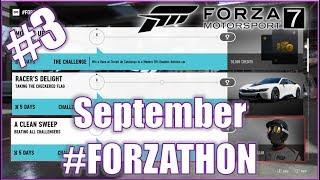 Forza Motorsport 7 SEPTEMBER #FORZATHON 3