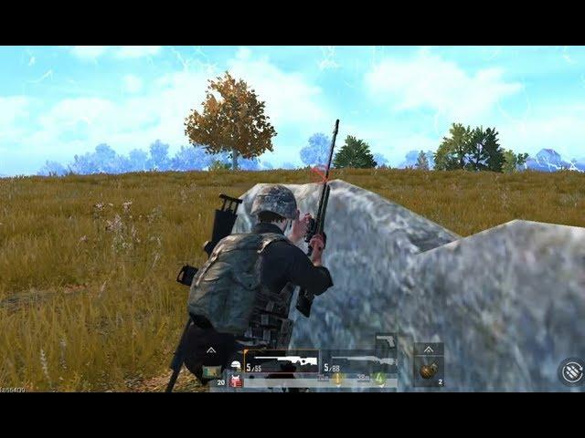 狙击手麦克:扮猪吃老虎,1把AWM带野队躺鸡,这般操作服不服?
