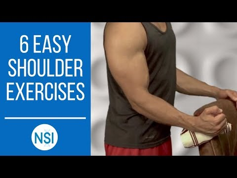 Exercises and Stretches For Shoulder Pain