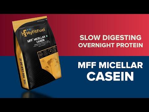 MyFitFuel MFF Micelllar Casein | Long Lasting | Slow Digesting | Overnight Protein