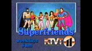 Superfriends commercial - KTVT Channel 11