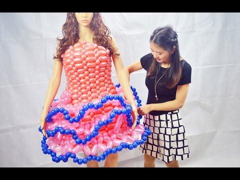 Balloon clothes the second part Balloon skirt  Lili balloon