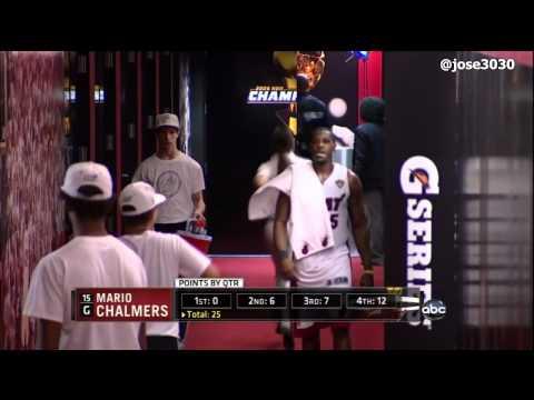 Dwyane Wade: Mario Motherfucking Chalmers