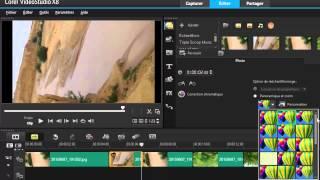 comment utiliser corel videostudio x8   partie 1