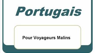 Apprendre le portugais - les mots de base