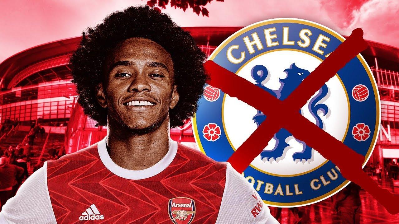 Breaking News Arsenal sign Willian | Arsenal Transfer News - YouTube