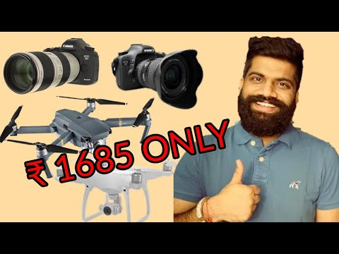 Delhi chor bajjar चोर बाजार camera drone gimbal tripod
