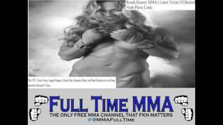 Rounda Rousey UFC's Latest Victim of Hacked Nude Photo Leaks
