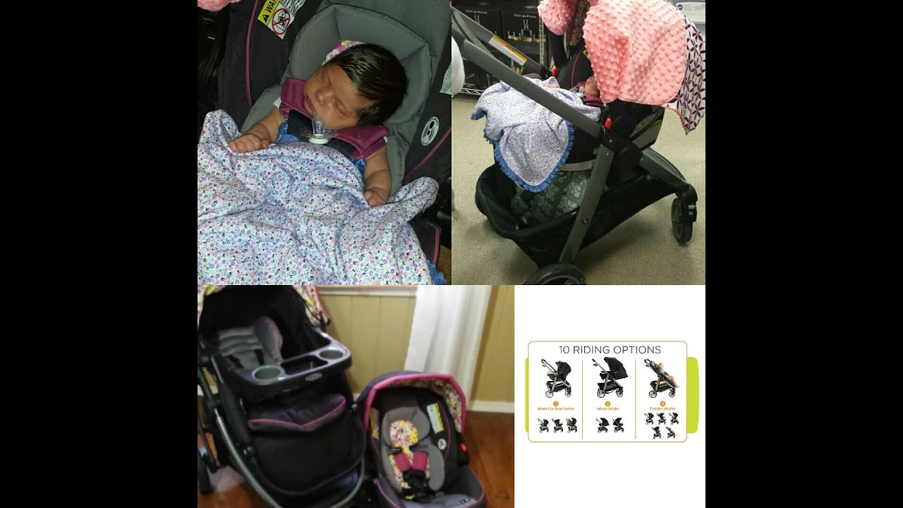 Our Travel System Graco Modes 3 In 1 Stroller Youtube