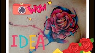 Video the best #Watercolor flowers #tattoos  #All ART download MP3, 3GP, MP4, WEBM, AVI, FLV Agustus 2018