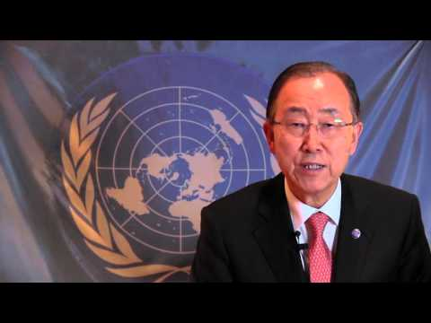 Secretary-General Ban Ki-moon's video message to the Israeli and Palestinian people