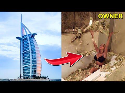 Burj Al Arab दुनिया का सब से महंगा होटल 17Lakh Rs. / Night | Dubai Burj Al Arab Hotel