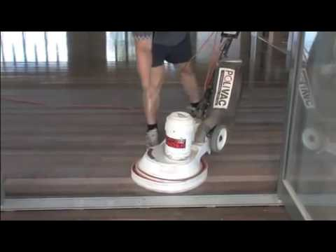 Floor Sanding & Polishing Brisbane - Polivac Rotary Sander Brisbane Timber Floors