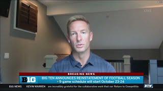Big Ten Football Returns | Joel Klatt Interview