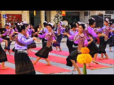 thai dance in nakhon phanom thailand - traditional dance