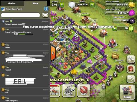 How To Copy And Paste In Clash Of Clans