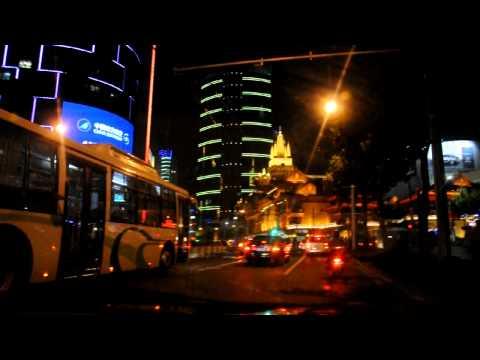 Shanghai Night Taxi Drive