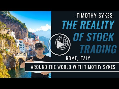 The Reality of Stock Trading: Timothy Sykes in Italy