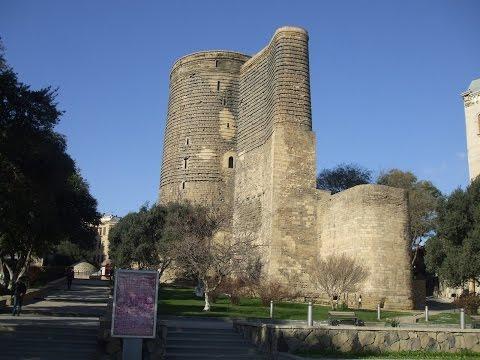 Баку #1 Девичья башня Гуляем по внутреннему городу  Место где снимали Брильянтовая рука