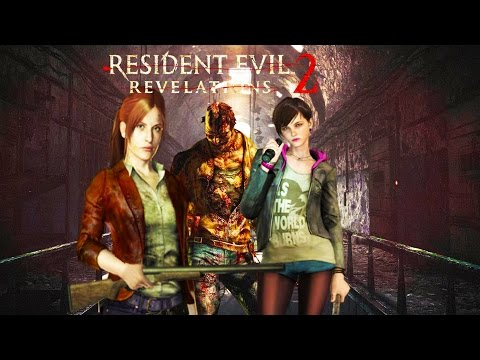 Resident Evil Revelations 2 LiveStream!!!  LET THE HORROR BEGIN!!! | RAID Mode Horror