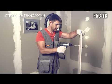 Как крепить на гипсокартонную стену тяжелые вещи