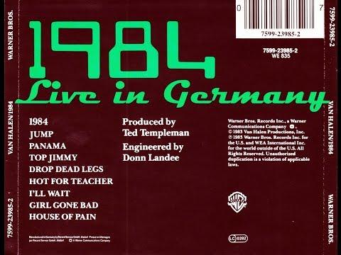 Van Halen: '1984' LIVE - Monsters of Rock Festival, Karlsruhe, Germany, Sept. 1984
