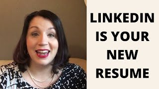 LinkedIn Is Your New Resume