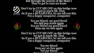 """Bob Marley """"Duppy Conqueror"""" (Lyrics-Letras)"""