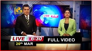 Live at 6.30 News - 2017.03.20