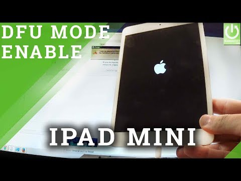 How to Put APPLE iPad Mini into DFU Mode - Enter /  Quit DFU Mode
