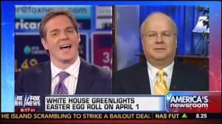 Bill Hemmer Calls On Republicans To Boycott White House Egg Roll, Karl Rove Disagrees