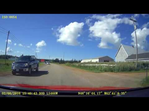 Prince Edward Island - Borden-Carleton to Summerside, Route 10nb & Route 11wb