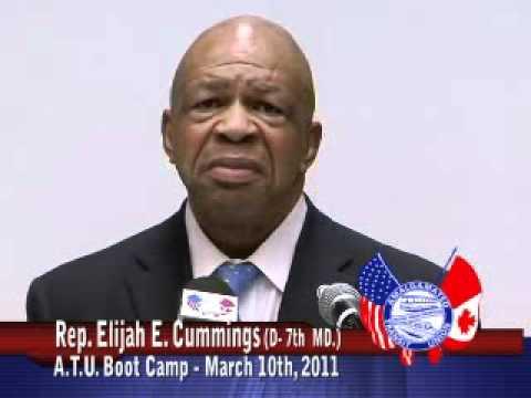 Representative Elijah Cummings (D - MD) - Part 1