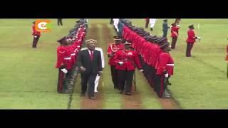 Rais aongoza taifa katika sherehe za Madaraka mjini Nyeri