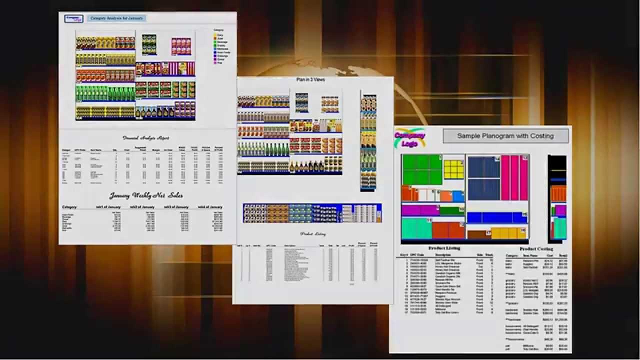 presentation manager in shelf logics planogram software