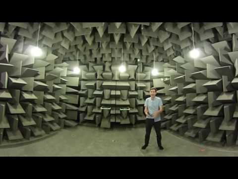 360 video of Anechoic Chamber, Salford University