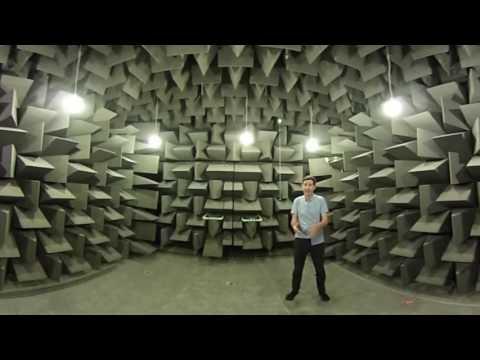 360 video of Anechoic Chamber, Salford University