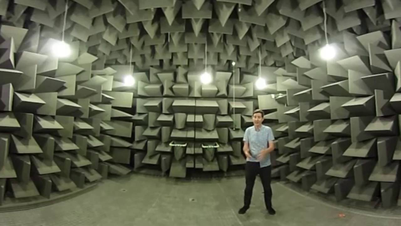 The world's quietest place is a chamber at Orfield Laboratories