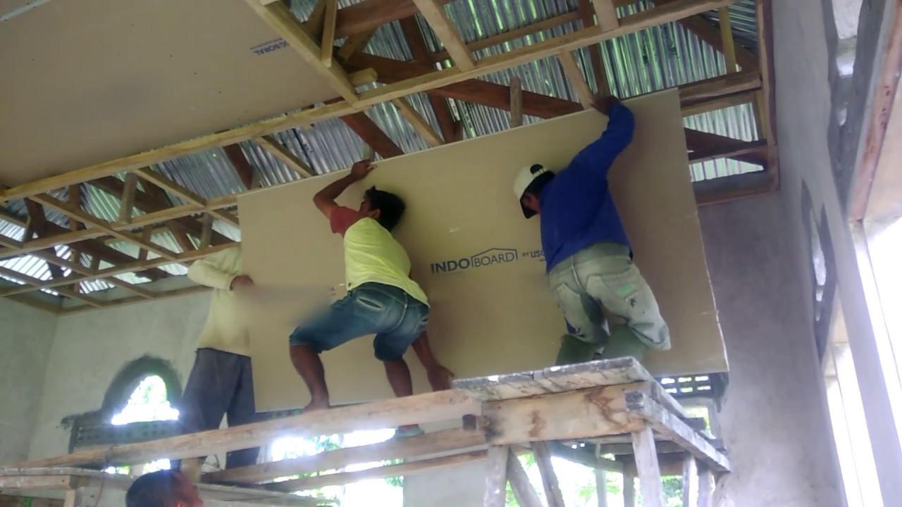 Cara Memasang Plafon Rumah Moo Seat The Forest Cara memasang plafon triplek