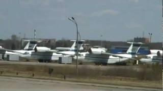 TU-154 Emergency landing - which is operated by Russian military(Moscow - Russian military prosecutors launched an investigation on Wednesday after an amateur video captured a defence ministry jet lurching terrifyingly out ..., 2011-05-04T17:47:25.000Z)